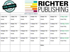 self-publishing: write a book in a month