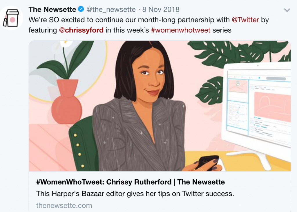 Magazine Editors on Twitter: Chrissy Rutherford