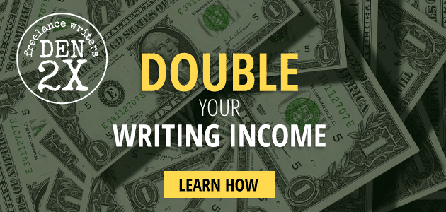 First client meeting? Learn to double your writing income. Freelance Writers Den 2X