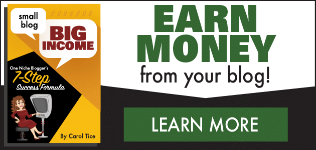 Small Blog, Big Income: Earn Money from your blog!